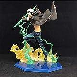 Estatua de Modèle D Animeneime One Piece Law Figure Toy Fighting Ver Trafalgar D Ley de Agua Figurines Poupée Colección PVC Modèle JOOTE JOUETS POUR Cadeau 18 CM