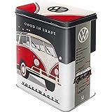 Nostalgic-Art Retro Vorratsdose L Volkswagen – Good in Shape – Idea de Regalo para los Fans de VW Bus, Lata de café...
