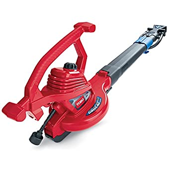 Toro 51621 UltraPlus Leaf Blower Vacuum Variable-Speed  up to 250 mph  with Metal Impeller 12 amp,Red