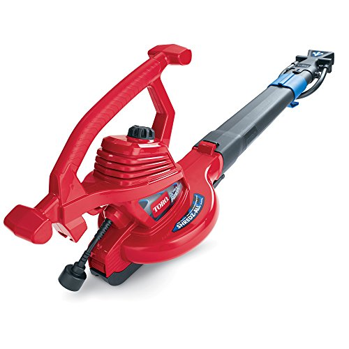 Toro 51621 UltraPlus Leaf Blower Vacuum, Variable-Speed (up to 250 mph) with Metal Impeller, 12...