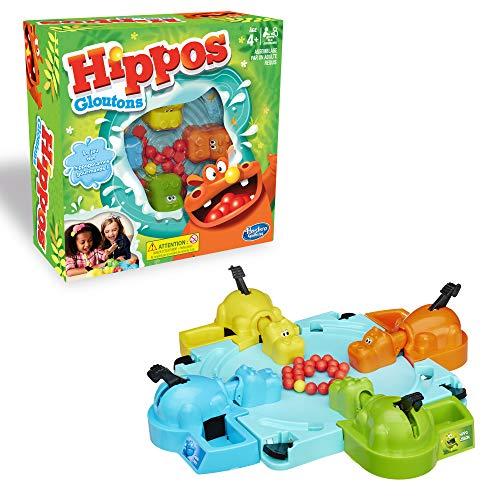 Hippos Gloutons, Juego de Mesa para niños, versión Francesa