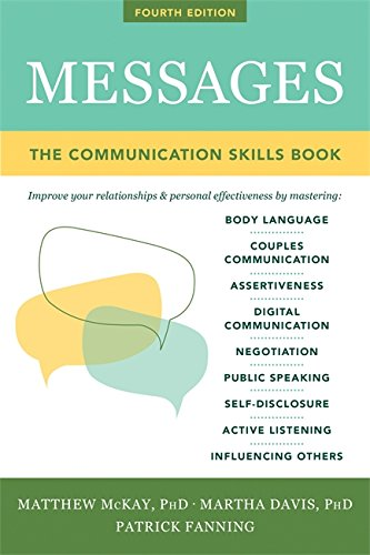 Compare Textbook Prices for Messages The Communications Skills Book 1 Edition ISBN 9781684031719 by McKay, Matthew