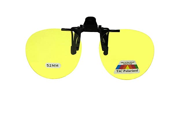 5258707bd0 Round Polarized Flip up Clip on Sunglasses