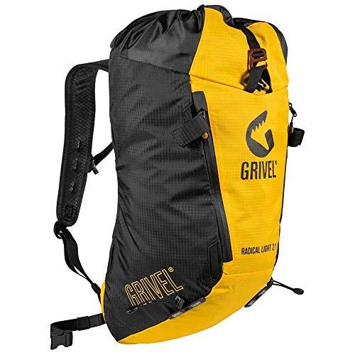 Grivel Radical Light 21 Gelb-Schwarz, Alpin- und Trekkingrucksack, Größe 21l - Farbe Black - Yellow