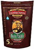 5LB Don Pablo Colombian Supremo - Whole Bean Arabica...