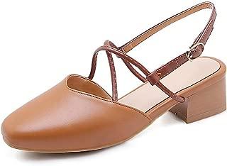 BalaMasa Womens ASL06812 Pu Heeled Sandals