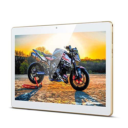 Tablet 10 Zoll, Android Tablet PC Qimaoo Android 8.1 mit 2 GB RAM 32 GB ROM Quad Core CPU, IPS HD (1280 x 800), Dual Kamera/SIM 3G Tablets Unterstützung WiFi/GPS/Bluetooth (K4)