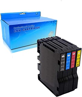 Lic-Store Compatible Ricoh GC41 GC41BK GC41C GC41M GC41Y Ink Cartridge for Ricoh IPSIO SG 2100 2010L 3100 3110 (1 Black 1 Cyan 1 Yellow 1 Magenta 4PK)
