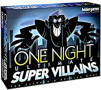 Bezier Games One Night Ultimate Super Villains Multi-Colored