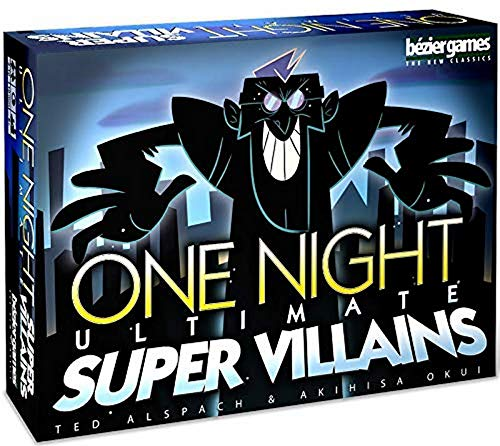 Bezier Games One Night Ultimate Super Villains, Multi-Colored