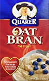 corn bran - Quaker Hot Oat Bran Hot Cereal, 16 Ounce Box