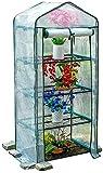 Invernadero de jardín Invernaderos jardinería suculentas cubierta hidratante siembra de los cultivos a prueba de lluvia protección contra heladas, PE cubierta del paño ( Size : 69x49x160cm )