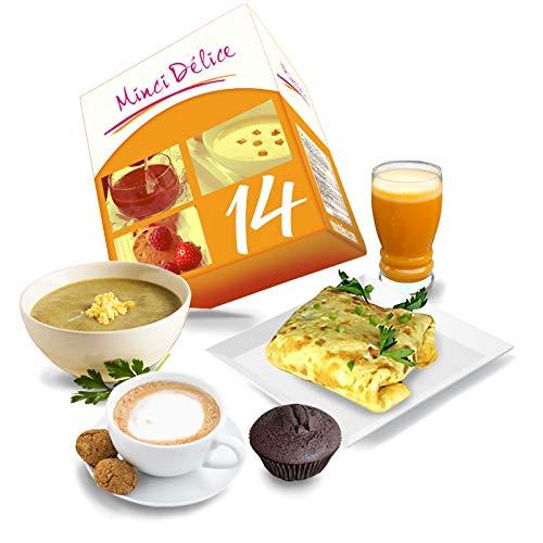 Dieta Dimagrante Iperproteica Cofanetto 14 giorni 33 prodotti 1 shaker e 1 guida offerti – perdita di peso ottimizzata in 2 settimane