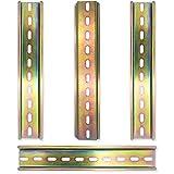 4 Una Carril DIN Ranura de Metal Carril Fijo de Aluminio Hecho Para Interruptores Automáticos Contactores Bloques Terminales Color Cobre