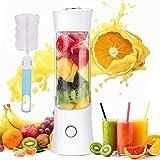 Portable Personal Blender, Household Juicer fruit shake Mixer -Six Blades, BPA Free 480ml Baby cooking machine...