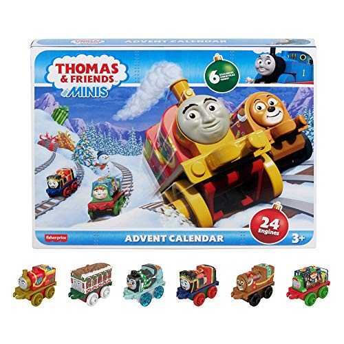 Thomas & Friends MINIS Advent Calendar 24 miniature toy trains
