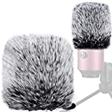 Windscreen Compatible with Fifine K669b/669b,Chromlives Pop Filter Furry Mic...