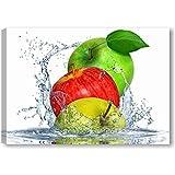 Quadri L&C ITALIA Apples Fresh - Quadro Cucina Moderno con Frutta...