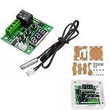 Guolongbaihuo Electrónica Kit Interruptor de Control del termostato XH-W1209 DC 12V Pantalla de Temperatura del termómetro de Controlador con el Caso con LED Digital, fácil de Llevar y Utilizar
