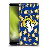 Head Case Designs sous Licence Officielle NFL Empreinte d'animal léopard Los Angeles Rams Art Coque...