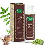 Mother Sparsh 30 Herbs Natural hair oil | therapeutic properties to reduce hair fall and nourish dry, dull and damaged hair | Contain sesame oil, Jabapushp, Methi, Amla & almond oil | 100% Ayurvedic, 200 ml argan oil shampoos May, 2021