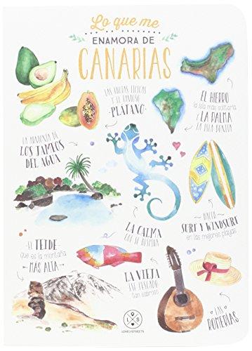 Libreta Lovely Streets - Lo que me enamora de Canarias