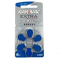 RAYOVAC RAYOVAC 補聴器用電池 PR44(675) 6粒入り 5シートセット