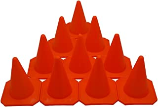 "BlueDot Trading 4"" RC Racing Agility Cones,  Orange  – Set of 10"