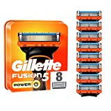 Gillette Fusion 5 Power Cuchillas de Afeitar Hombre, Paquete de 8 Cuchillas de Recambio
