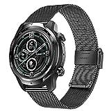 TRUMiRR Compatibile con TicWatch Pro S/Ticwatch Pro 3 Cinturino, 22MM Cinturino per Orologio in...