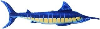 ERDAO Giant Swordfish Stuffed Animal Toy,Realistic Blue Marlin Fish Plush Pillow (39.3 inch)
