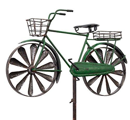 colourliving Carillon City Bike Vélo Métal Cylindre de Messieurs Vélo Vert 2 Vent Roues Roulement