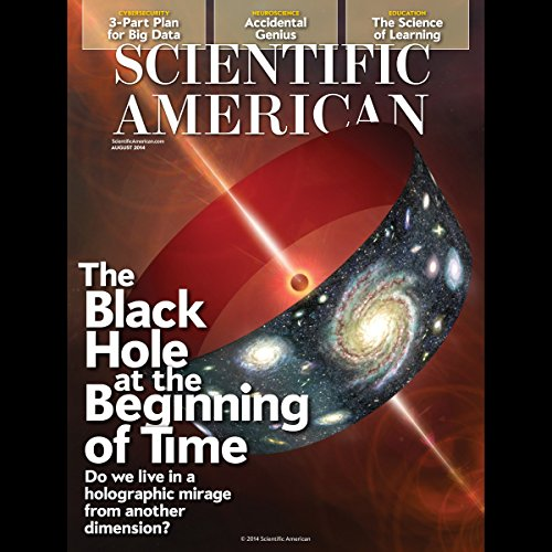 Scientific American, August 2014 audiobook cover art