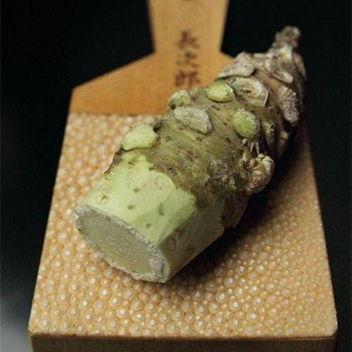 Semillas wasabi 100pcs / bolsa de semillas de rábano picante japonés vegetal Wasabia japónica jardín de Bonsai Plantas de bricolaje