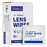 Noble Pre-moistened Lens Wipes Individually...