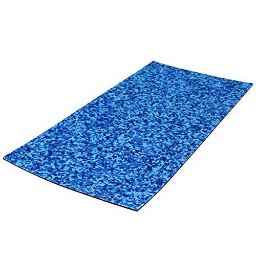 Castaway Customs Sheet SeaDek Material | 40' x 80' Aqua Camo/Black | Cut to fit | Customized Flooring | Comfort Step | Boat Padding | Non Absorbent