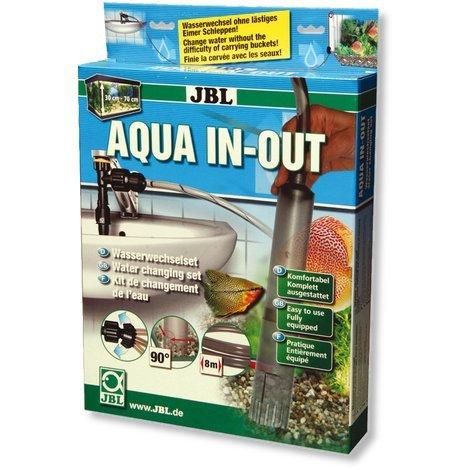 JBL - Aqua In Out Wasserwechselset für Aquarien zum Anschluss an den Wasserhahn (groß)
