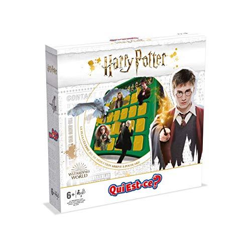 Winning Moves-Qui EST-CE Harry Potter-Jeu de société-Version française, 0490