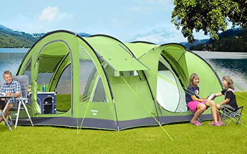 BERGER Tunnelzelt Sierra 6 Campingzelt Trekkingzelt Kuppelzelt Tent Zelt 3000mm Festival Zelten