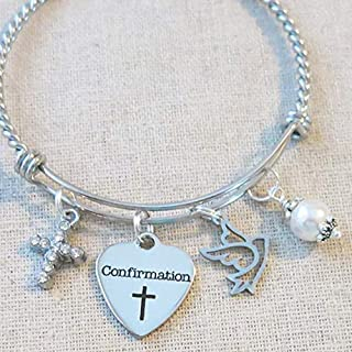 confirmation charms for bracelets
