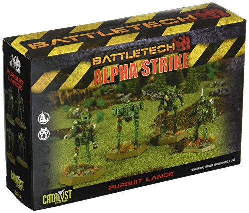 BattleTech Pursuit Lance Pack by Catalyst Game Labs