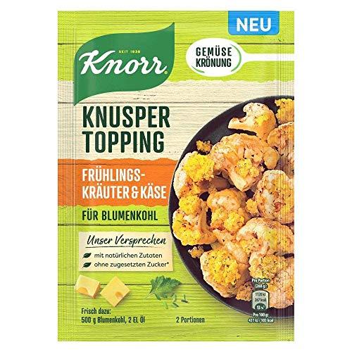 Knorr Knusper Topping Frühlingskräuter & Käse, 40g