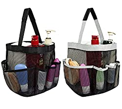 2 mesh shower caddy bags