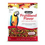 ZuPreem Fruit Blend Diet for Large Birds, 3.5-Pound by ZuPreem