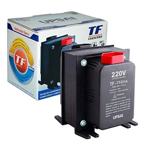 Auto Transformador de Voltagem 750va Automático Bivolt 110v / 220v ou 220v / 110v Upsai Modelo 51000075
