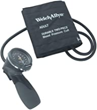 Welch Allyn Tycos TR-1 Hand Aneroid with Durable One-Piece Adult Cuff and Case (Model 5098-27)