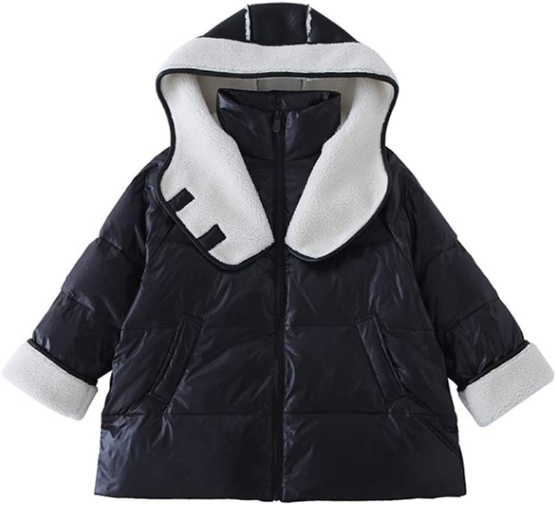 Kids Down Jacket Winter Down Jacket Coats for Kids Thicked Children Girl Snowsuit Cute Coat Outerwear Down Coats (Size : 150)