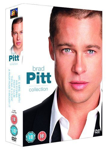 Brad Pitt Collection - Mr And Mrs Smith/Kalifornia/Fight Club/Thelma And Louise/River Runs Through It [UK IMPORT]