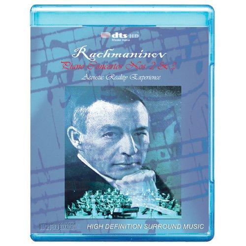 Rachmaninov: Piano Concertos Nos. 2&3 - Acoustic Reality Experience [7.1 DTS-HD Master Audio BD9 Disc] [Blu-ray]