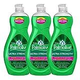 Palmolive Ultra Strength Liquid Dish Soap, Original - 60 Fl Oz - 3 Pack x 20 FL Oz / 591 mL Each